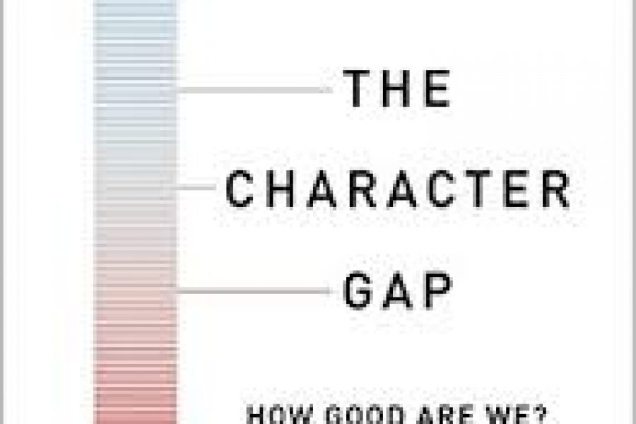 The Character Gap, by Christian Miller